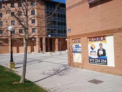Local comercial en alquiler en Soria comercializa Inmobiliaria Piso Ideal
