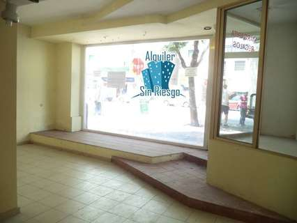 Local comercial en alquiler en Cáceres comercializa Inmobiliaria Alquiler Sin Riesgo Cáceres