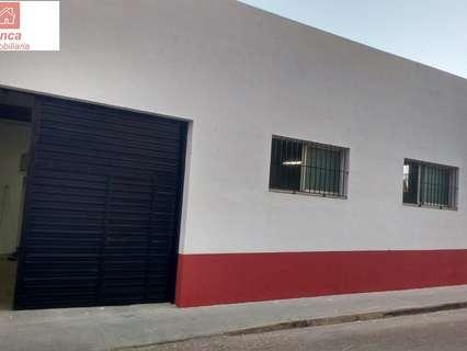 Nave industrial en alquiler en Montijo