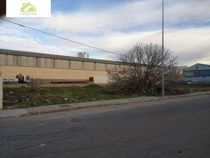 Parcela industrial en venta en Zamora