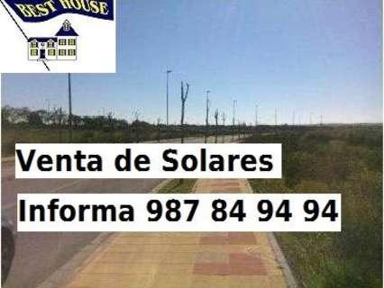 Parcela rústica en venta en León