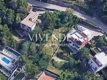 Parcela rústica en venta en Sant Cugat del Vallès