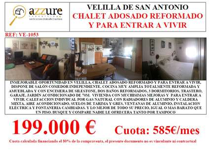 Chalets en venta en Velilla de San Antonio
