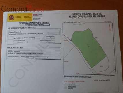 Parcela rústica en venta en Torreiglesias zona Losana de Pirón