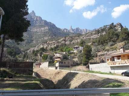 Parcela urbana en venta en Monistrol de Montserrat