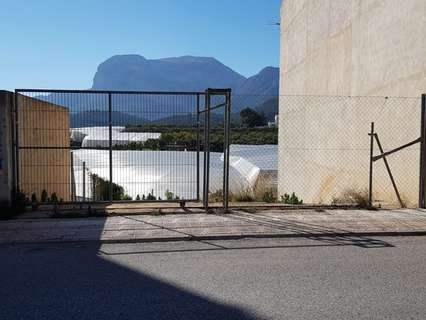 Parcela urbana en venta en Callosa d'En Sarrià